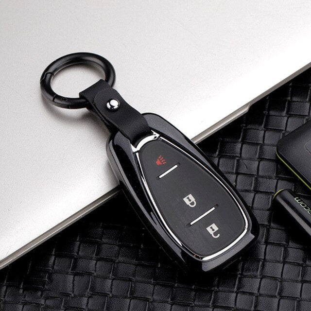 Zinc Alloy Key Cover For chevrolet cruze spark camaro Volt Bolt Trax Malibu 2016-2018