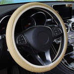 Universal Steering Wheel Cover Anti-Slip Leather