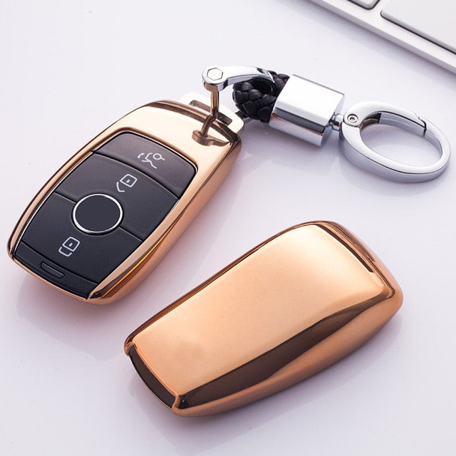 Car Key Cover For Mercedes Benz 2016 2017 New E Class W213 E200 E260 E300 E320