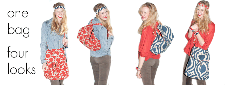 Reversible Backpack by Flipped Bird