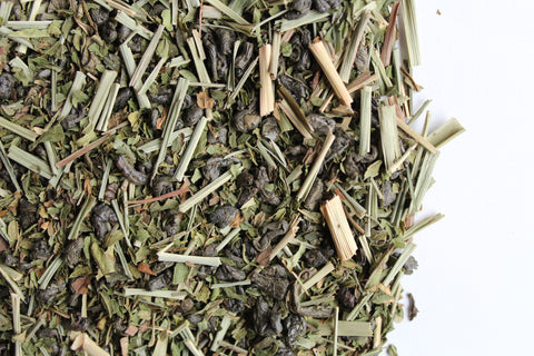 Green tea infused with gunpowder tea Arabian Enlighten-Mint