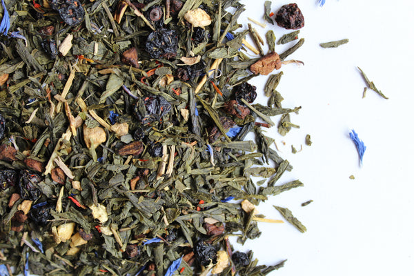 Green Tea Revitalizing Secrets and Ginseng