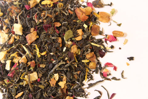 White Herbal Black Tea Heavenly Sultani Rose