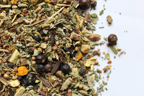 Herbal Tea Licorice Cloves Cinnamon Purification