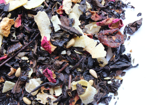Black Oolong Tea with berry citrus