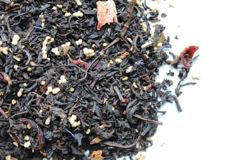 Black and White Tea Soul Reaching Berries and Cream