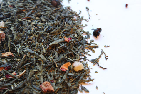 Green tea, Rose Petals Divine Rose