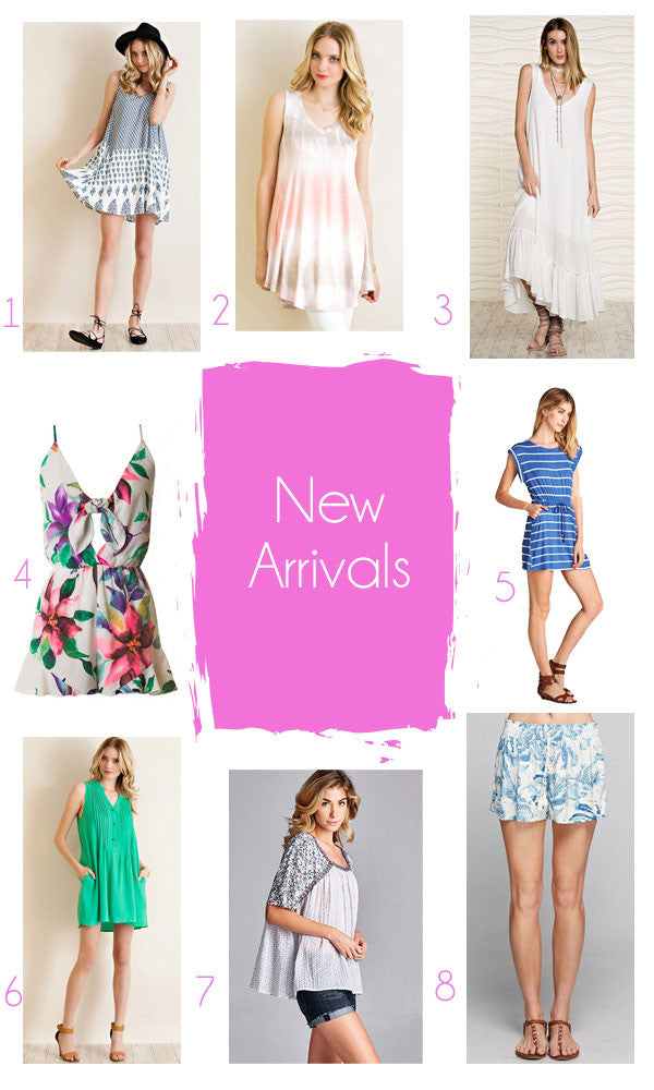 Best of: New Arrivals