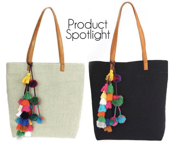 Product Spotlight: Pom Pom Totes