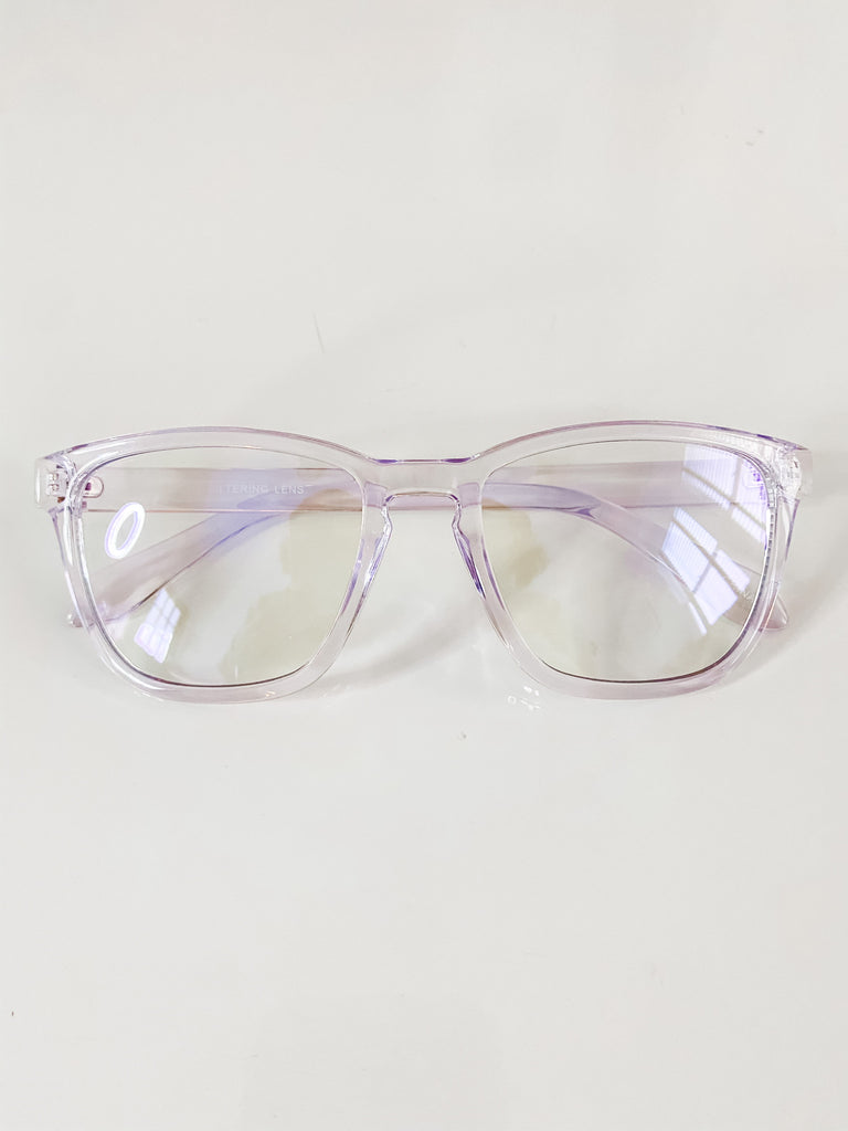 Blue Light Blocking Glasses- Clear