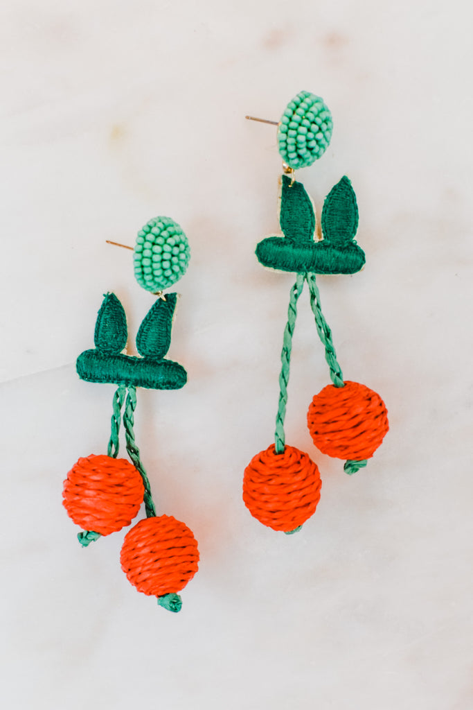 Cheerful Cherry Earrings