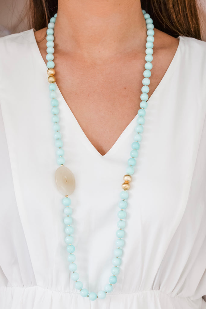 Talitha Multiway Necklace- Blue