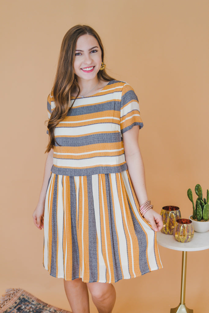 Sent With Love Striped Dress