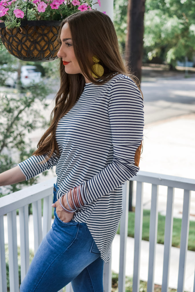 Read Between The Lines Striped Long Sleeve Top