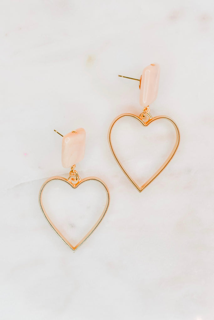 Heart Stop Earrings - Pomp & Circumstance