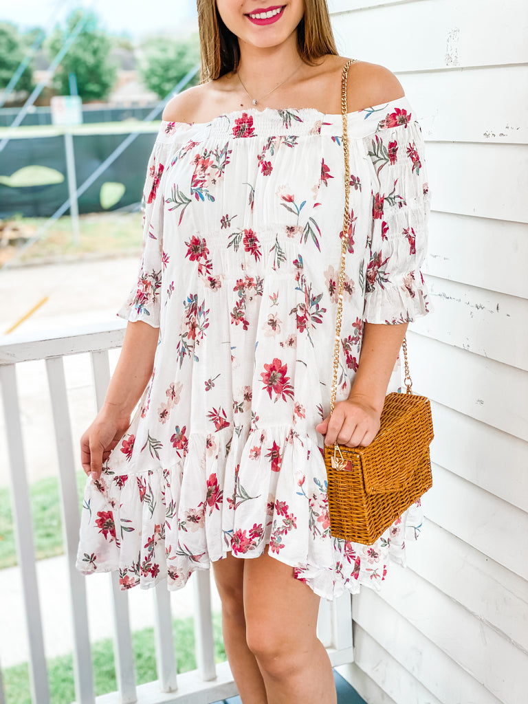 Just Picked Floral Dress