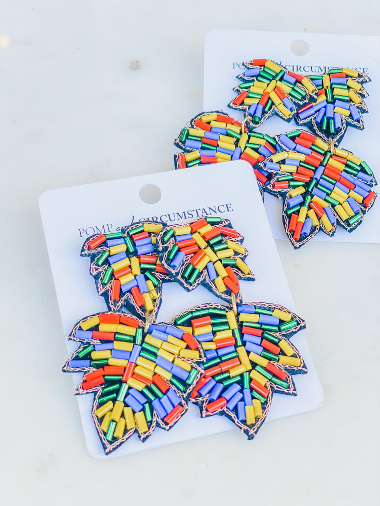 Vacation Day Earrings- Multi