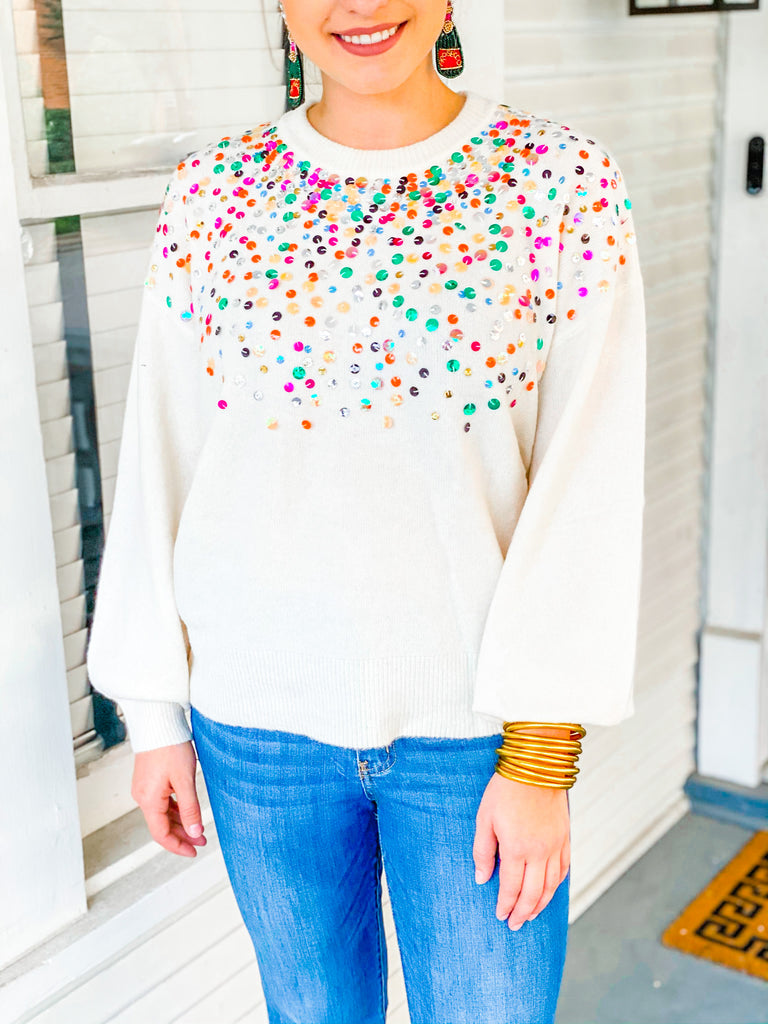 Brightly Lit Sweater