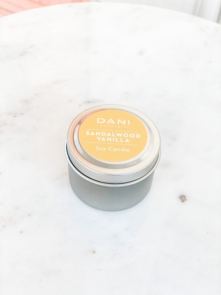 Travel Tin Soy Candle