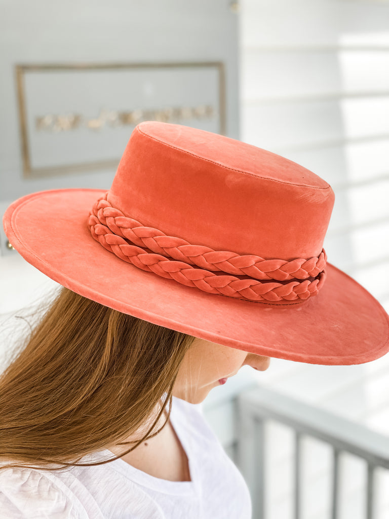 La Vie On Rose Hat- Rose