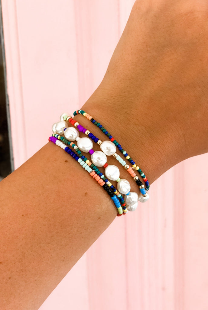 Colorful Bracelet Stack (Set of 5)