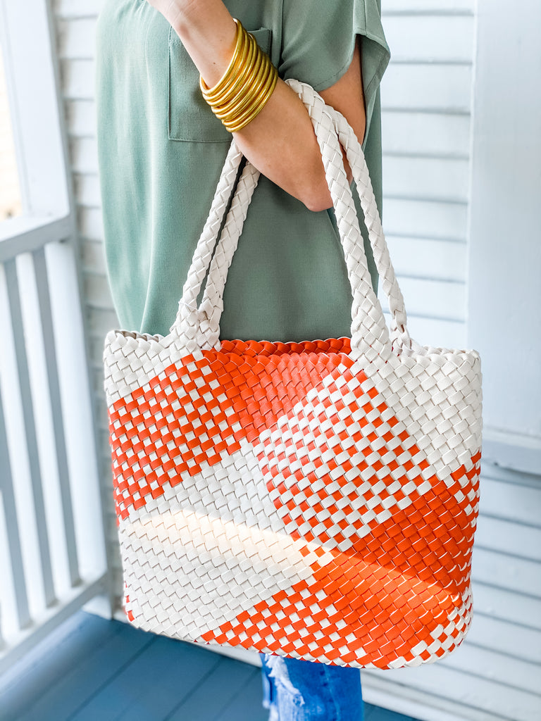 Stroll Around Town Bag- Orange