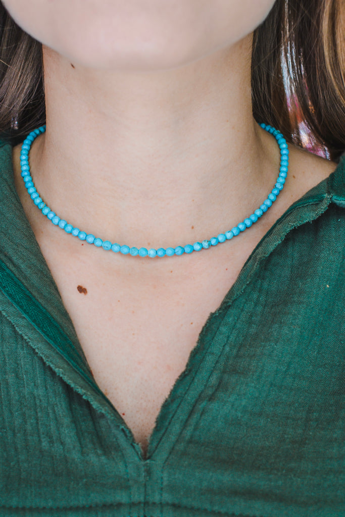 Someone To Love Turquoise Necklace - Pomp & Circumstance