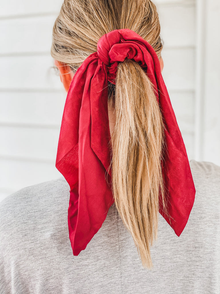 Satin Silk Hair Tie Scrunchies