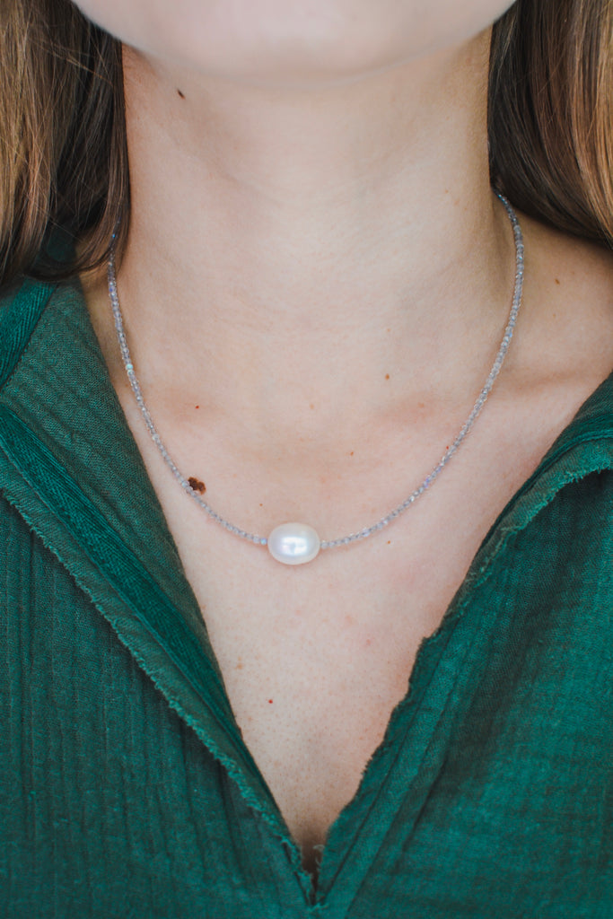 The Calm Necklace- Gray