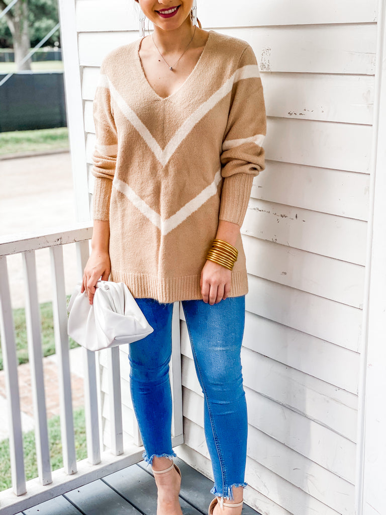 Made For You Sweater - Taupe
