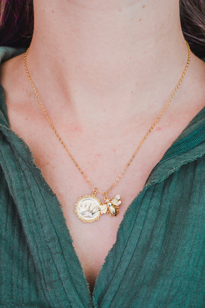 Queen Bee Necklace - Pomp & Circumstance