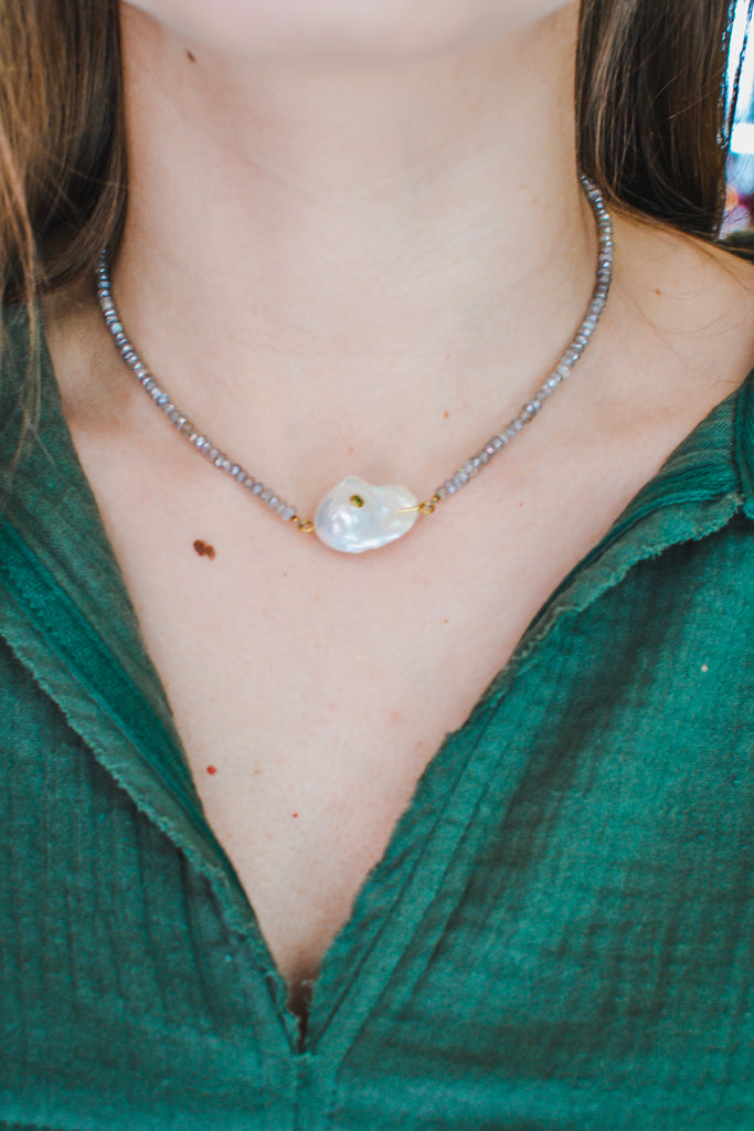 Over The Moon Necklace - Pomp & Circumstance