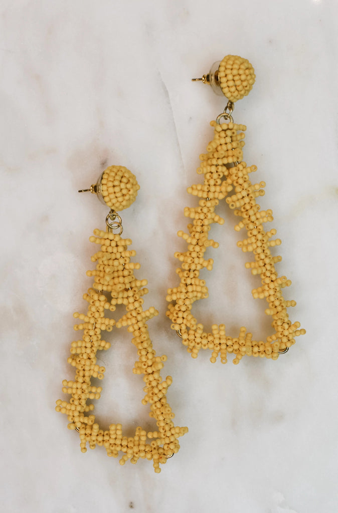 So Sweet Earrings- Yellow