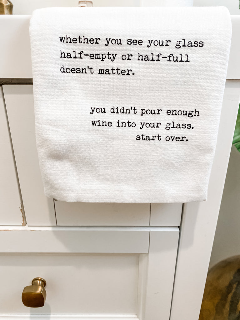 Dish Towel - Comedy (Drink)***