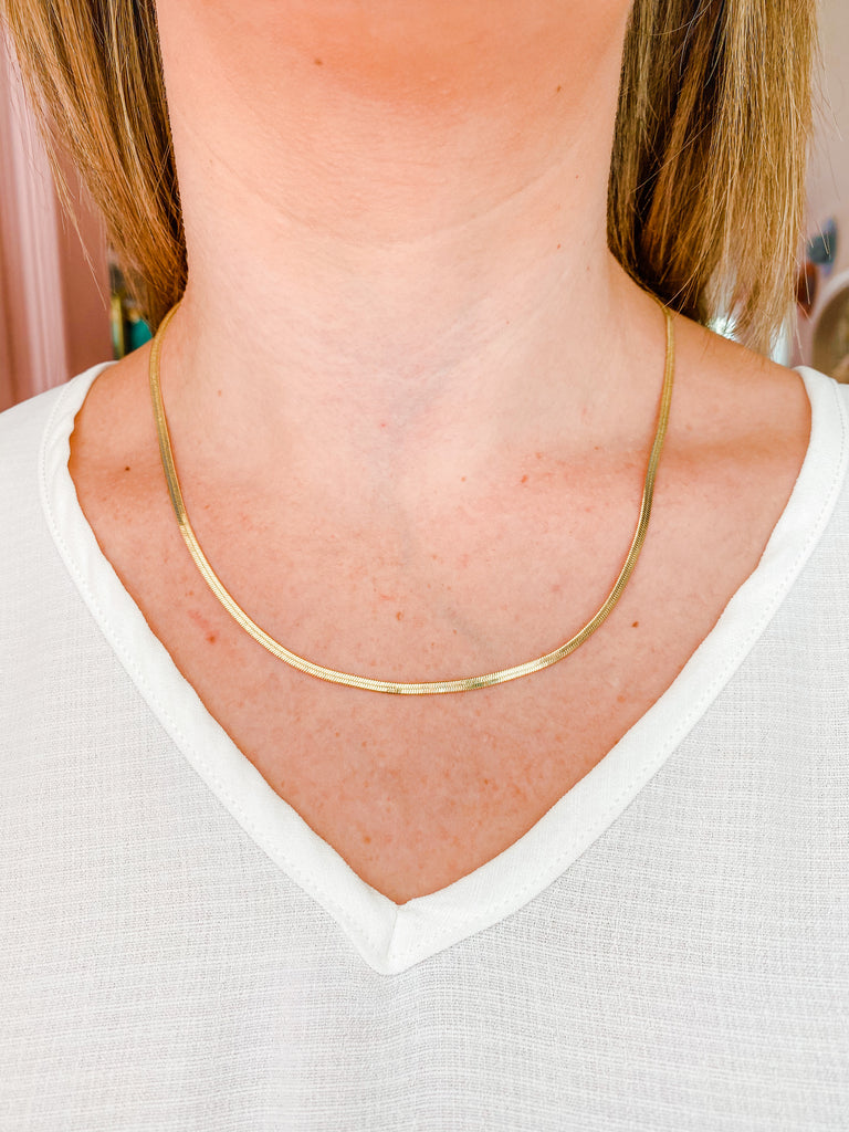 Speechless Gold Necklace