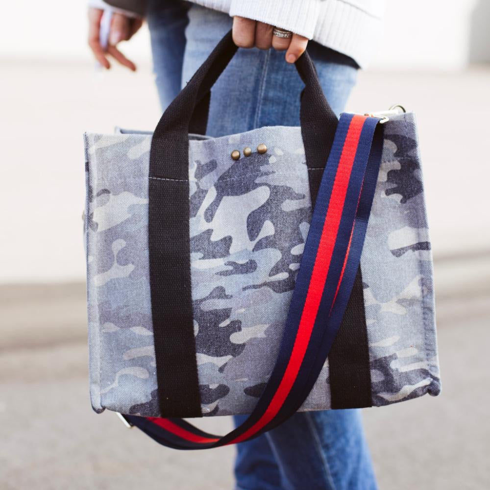 PREORDER: PS Canvas Bag Tote- Camo***