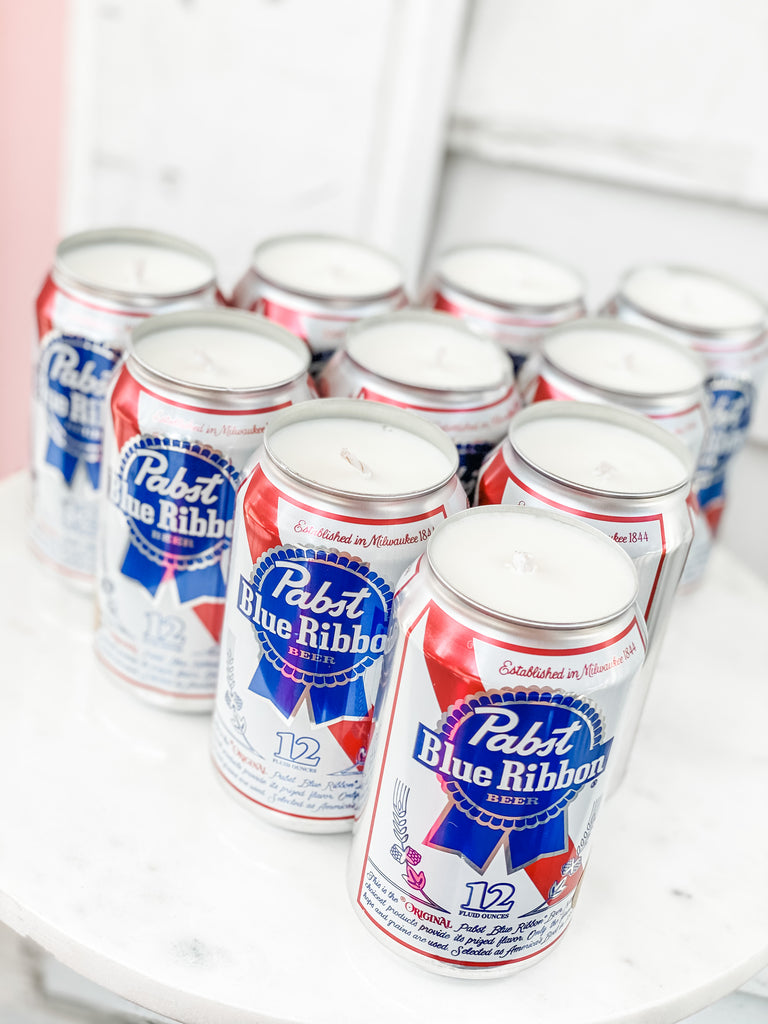 Pabst Blue Ribbon Candles***