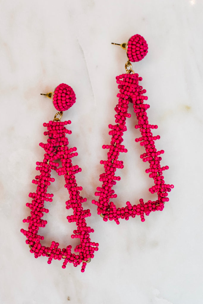 So Sweet Earrings- Pink