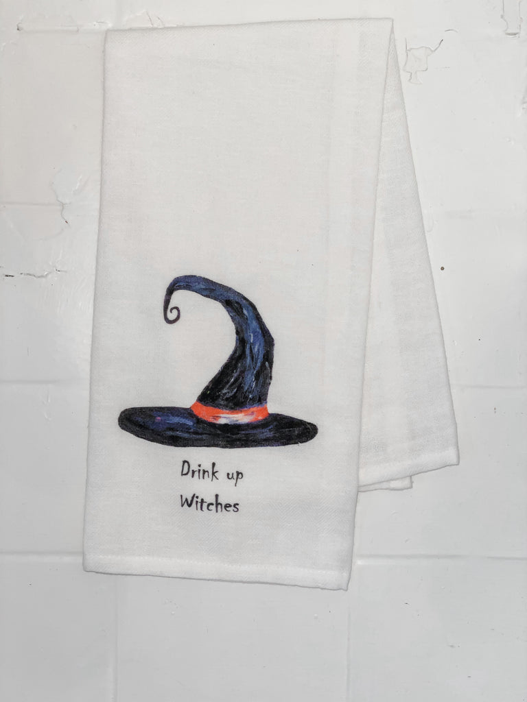 Dish Towel - Halloween Party***