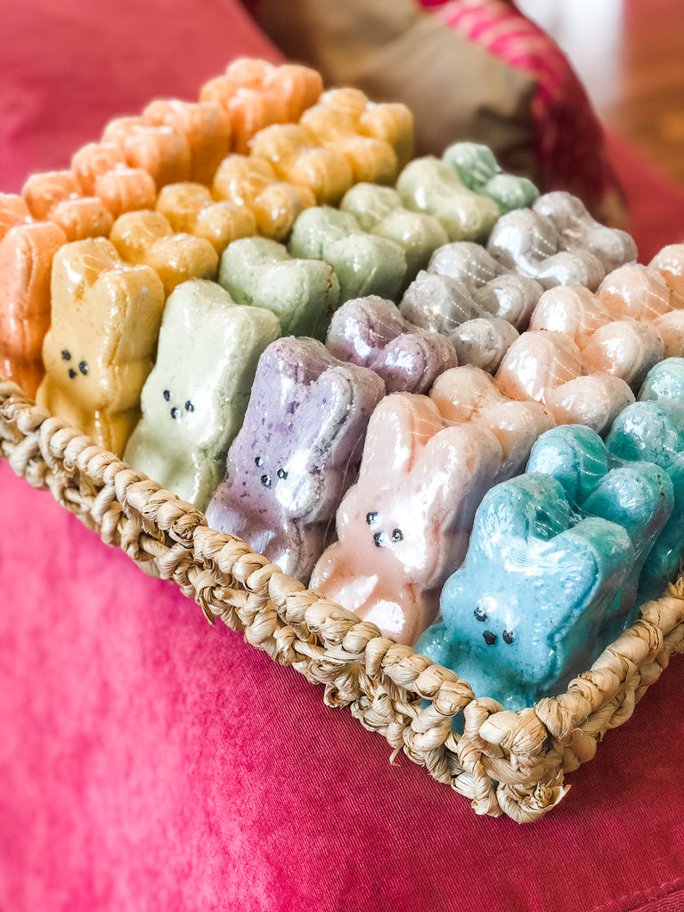 Easter Bunny Jelly Bean Bath Bombs