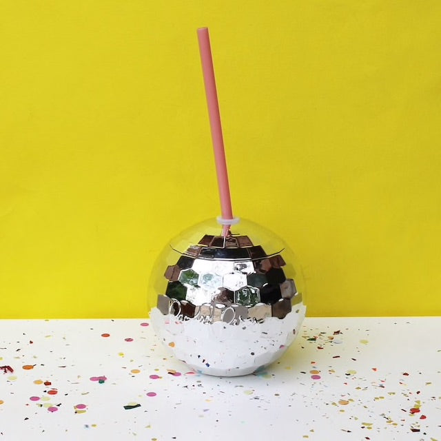 Disco Drink Cup- Silver - Pomp & Circumstance