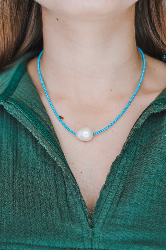 My Only Wish Turquoise Necklace - Pomp & Circumstance