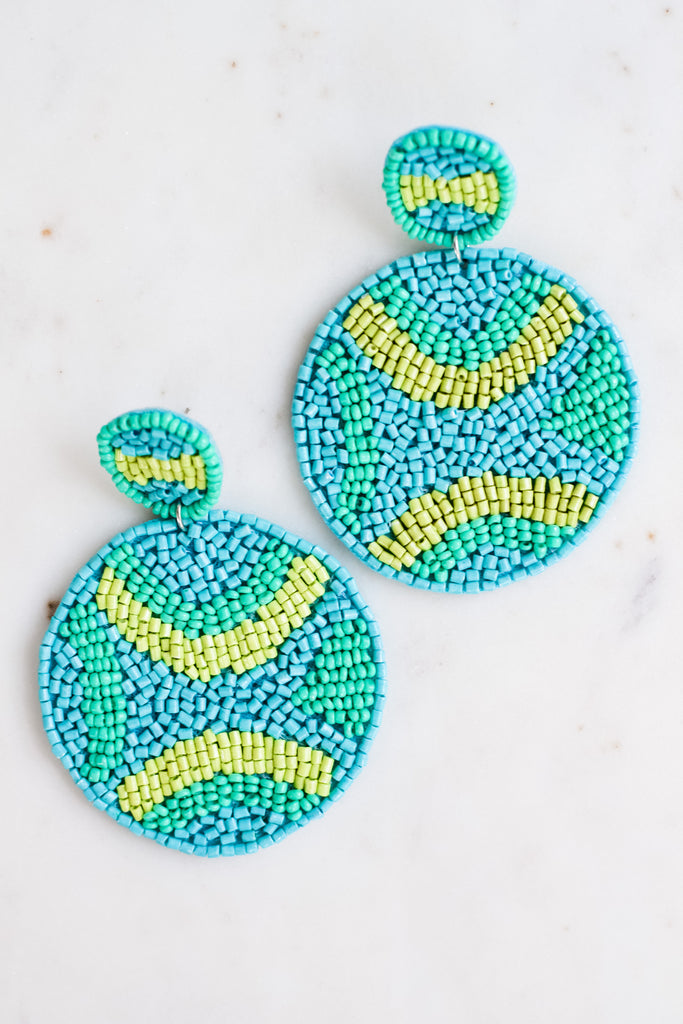 What I Should Do Earrings- Turquoise