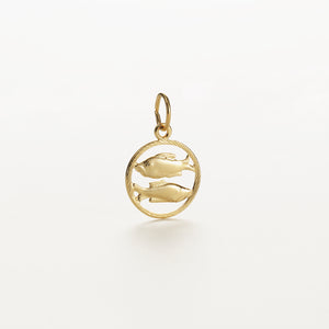 Recreational Studio Cut Out Gold Round Sagittarius
