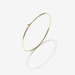 NOVEMBER TOPAZ BANGLE
