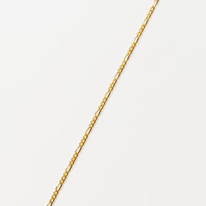 Recreational Studio Solid Gold Figaro Anklet