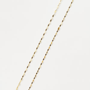 Recreational Studio Solid Gold Flat Disc Chain