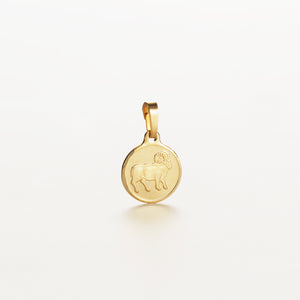 Recreational Studio Solid Gold Round Aries