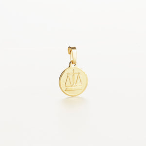Recreational Studio Solid Gold Round Libra