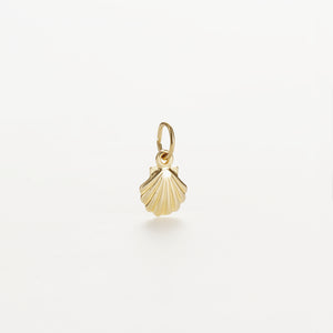 Recreational Studio Solid Gold Scallop Shell